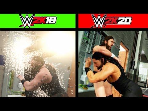 WWE 2K19 Details Vs. WWE 2K20