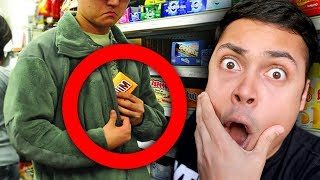Video REACTING TO PEOPLE WHO GOT CAUGHT STEALING ON CAMERA MP3, 3GP, MP4, WEBM, AVI, FLV Februari 2019
