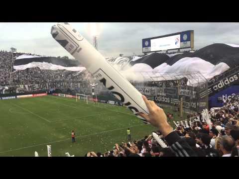 Gran Recibimiento de Olimpia vs Cerro Porteño - 03/05/2015 - La Barra del Olimpia - Olimpia