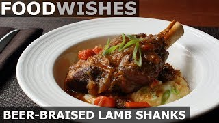 Beer-Braised Lamb Shanks - Food Wishes - Spring Lamb by Food Wishes