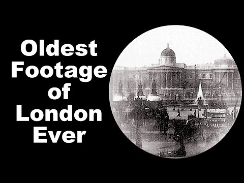 Oldest Footage Of London Ever