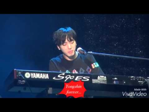 Jung yonghwa singing heart strings song 2016 march (видео)