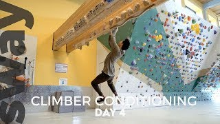 10 Minute Workout For Climbers | Day 4 | Climb With Sway by  WeDefy