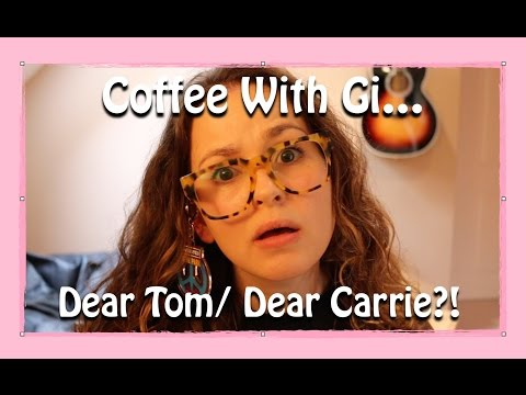 Tom - This week's 'Coffee With Gi' is dedicated to two amazing people who once shared a dream of sibling vloggingness. We all rejoiced when Dear Tom/Dear Carrie was born. Sundays and Wednesdays brought...