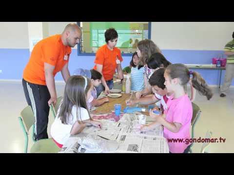 Comeza o campamento Gondoverán no colexio Chano Piñeiro