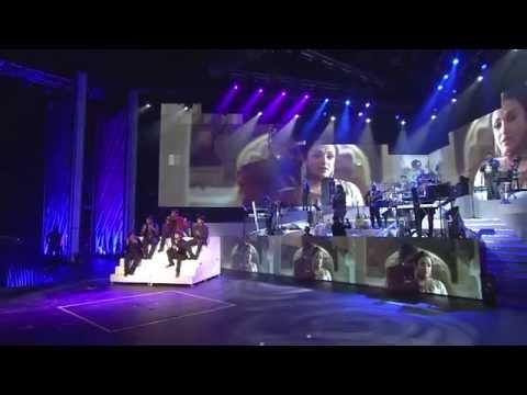 Guru - Tere Bina   A. R. Rahman   Live-in Concert Bangladesh 2014
