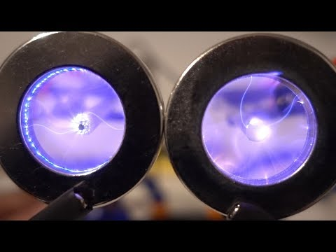 Plasma Vortex in a Magnetic Field | Magnetic Games (видео)