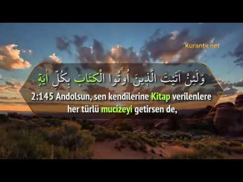 Bakara Suresi (109-158) Kur'an-ı Kerim Tilaveti