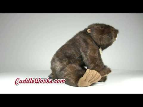 Beaver Stuffed Animal at CuddleWorks.com