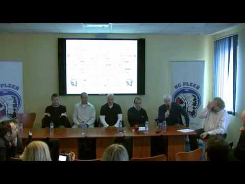 Tisk. konference HC Plzeň 1929 (3.3.2011) - 1.část