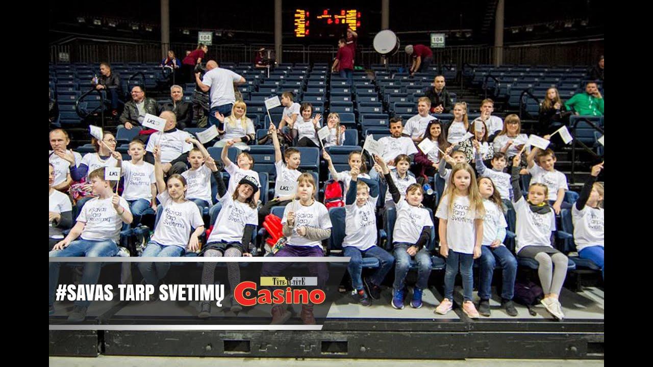#SavasTarpSvetimų | gausus būrys vaikų stebėjo krepšinį arenose