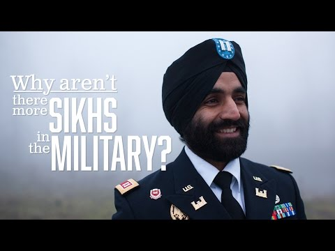 Why there aren't more Sikhs in the U.S. military (2017) [5:23]