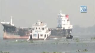 Ship Sink in Meghna River | Very Tragic | মেঘনা নদীতে জাহাজ ডুবি | খুব মর্মান্তিক