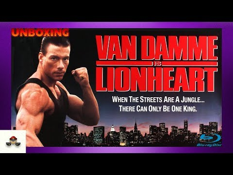 Lionheart 2-Disc Special Edition Van Damme Blu Ray Unboxing