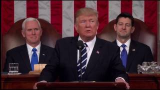 Response to President Trump's first joint address