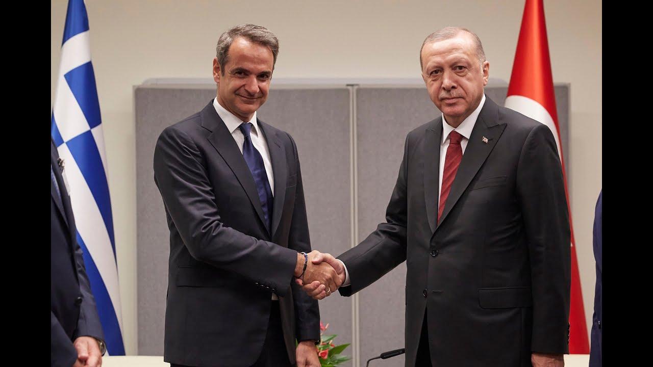 Μητσοτάκης – Ερντογάν: Υψηλοί τόνοι πριν το τετ-α-τετ