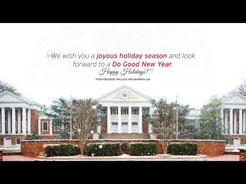 University of Maryland 2016 Holiday Greetings!