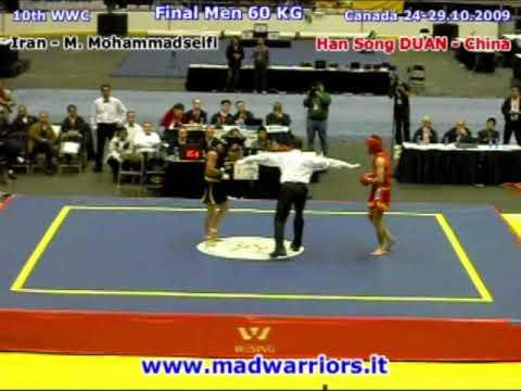 CK VĐTG 2009 - 60kg: Han Song DUAN (CHN) VS. M. Mohammadseifi (IRan)
