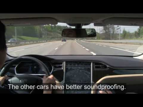 tesla - Model S P85+ EU-spec test drive: http://www.youtube.com/watch?v=VpYTGMQoaC4 My very first test drive in May 2013. The test car is a US 85 kWh Performance ver...