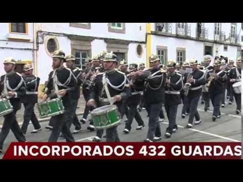 CERIMÓNIA DE COMPROMISSO DE HONRA DE 432 GUARDAS DA GNR EM PORTALEGRE: IMAGENS DO DESFILE