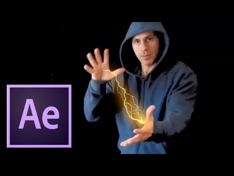 Tutorial  After Effects Relampago O Trueno Avanzado