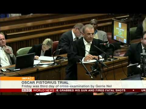 Karin Giannone reports live from Pretoria on Oscar Pistorius trial