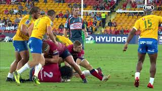 Reds v Bulls Rd.4 2018 Super Rugby Video highlights