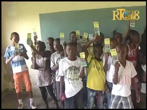 Haïti / Cité Soleil.- Lancement du programme ''Kraze Grangou''