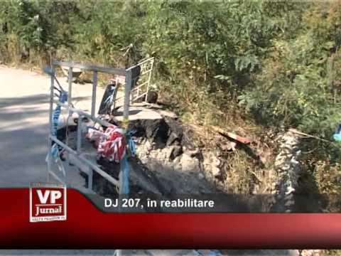 DJ 207, în reabilitare