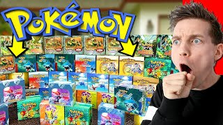 THEY FOUND $100,000+ OF OLD POKÉMON CARDS HIDDEN (2020 Find) by Unlisted Leaf