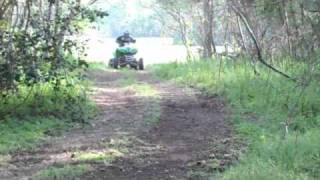 10. Kawasaki KFX 700 Insane Offroading Riding Video