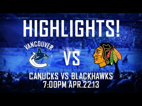 Canucks - On a scale of 1-10, how awesome was this game? If you missed any of the Vancouver Canucks 3-1 win over the Chicago Blackhawks, or if you liked it so much and...