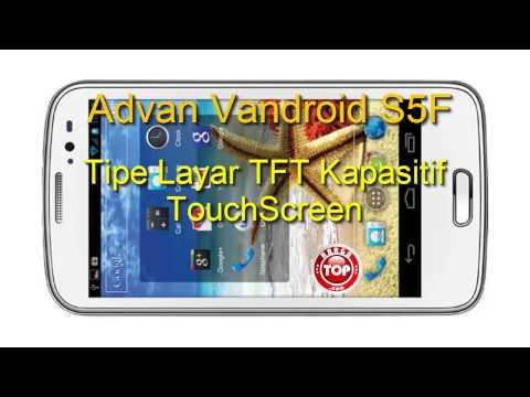 Advan Vandroid S5F Hp Tablet QuadCore Kamera 13 MP Harga Lokal