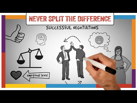 Watch 'Never Split The Difference Summary & Review (Chris Voss) - ANIMATED - YouTube'