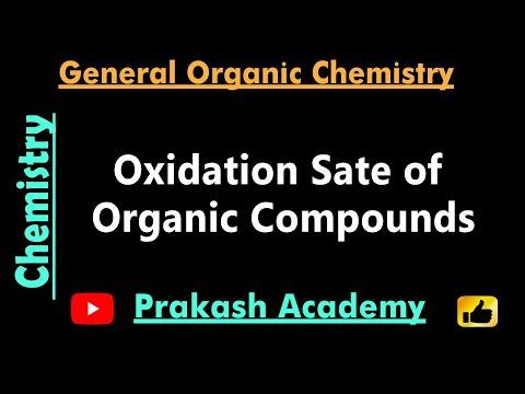 Oxidationsstufen von organischen Verbindungen