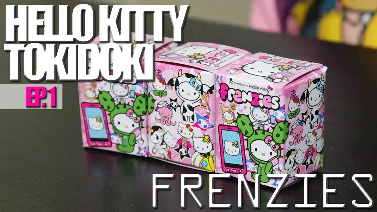 Tokidoki Hello Kitty FRENZIES Blind Boxes