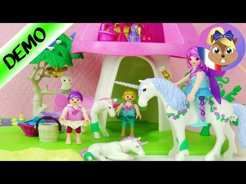 Playmobil Bosquet de fées avec soinpour Licorne | Infirmerie | Joue avec moi- Jeux pour enfants