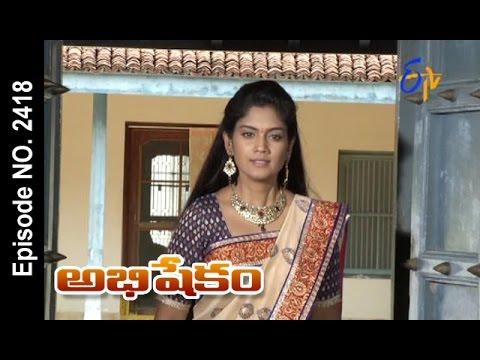 Abhishekam |18th  October 2016 | Full Episode No 2418 | ETV Telugu