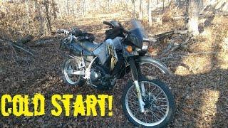 4. 2007 KLR 650 Cold Start 27F