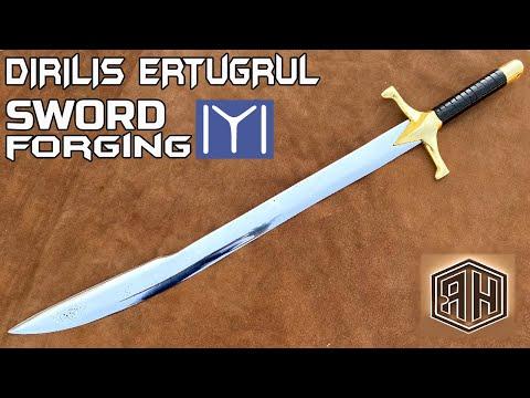 Making Dirilis Ertugrul SWORD