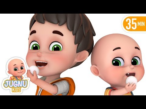 Chunnu Munnu - चुन्नू मुन्नू | Hindi Nursery Rhymes for kids - Hindi Kavita by jugnu kids