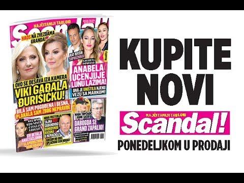 SCANDAL NOVINE: Viki gađala Đurišićku! Gagijeva ispovest: Anabela ucenjuje Lunu lažima! Tajna Šabanovog računa: Dva miliona evra u Nemačkoj