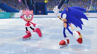 Mario and Sonic at the Sochi 2014 Olympic Winter Games - Figure Skating Pairs