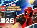 LEGO Marvel Superheroes - LEGO BRICK ADVENTURES - Part 26 - StanHulk! (HD Gameplay Walkthrough)