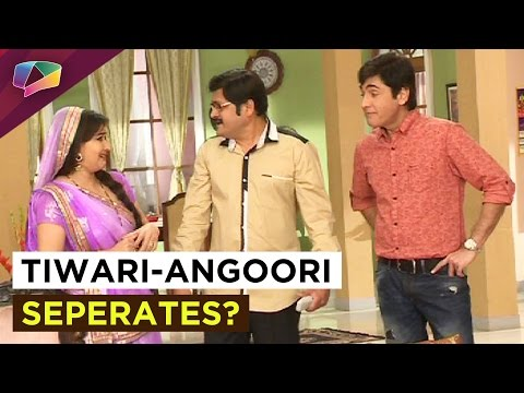 Vibhuti creates trouble between Tiwarji and Angoor