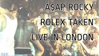 Don't take A$AP Rocky's Watch - 06//06/2012 London