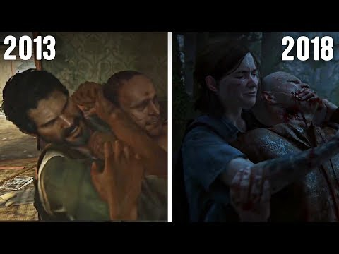 The Last of Us (2013) vs The Last of Us Part 2 (2018) - Gameplay and Graphics Comparison