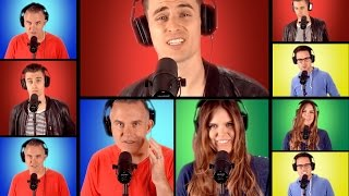 """Maroon 5 """"Maps"""" Acapella (Mike Tompkins Cover w/ Valentine in the Morning)"""