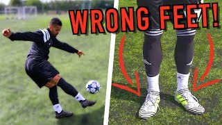 In this video, we decided to carry out our very own 'BOOTS ON THE WRONG FEET' experiment! Drop a LIKE if you enjoyed!► Don't forget to SUBSCRIBE: http://bit.ly/SubscribeF2► CHECK OUT OUR CLOTHING RANGE! http://bit.ly/RascalClothing► GET THE F2 BOOK! http://bit.ly/F2BookDOWNLOAD OUR BOOK APP FOR FREE ► The F2 App on Apple/iOS - http://bit.ly/F2AppiOS► The F2 App on Android - http://bit.ly/F2AndroidTo keep up to date with us at any time in any place then follow us on;Twitter - http://bit.ly/F2TwitterInstagram - http://bit.ly/F2InstagramFacebook - http://bit.ly/F2FacebookSnapchat - http://bit.ly/F2SnapchatStay tuned by subscribing to our channel to see all of the amazing videos coming up in the near future! Love, peace & tekkers! Billy & Jezza