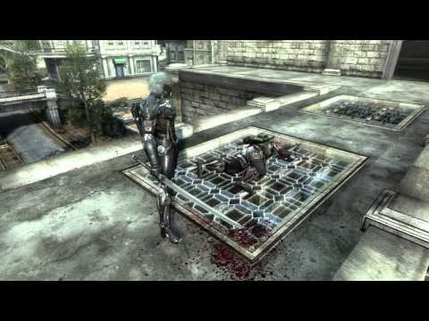 MGS: Revengeance Gamescom 2012 Trailer